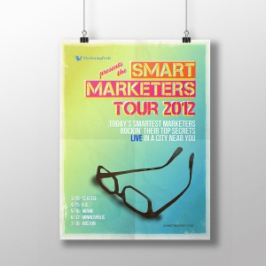 Poster Smart Marketers' Tour