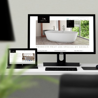 Website redesign Barclay Products