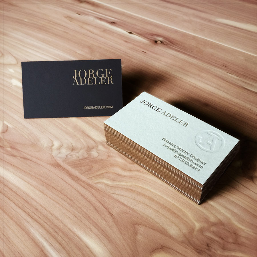 Jorge Adeler Business Cards